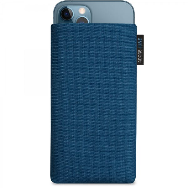 Image 1 of Adore June Classic Sleeve for iPhone 12 Pro and iPhone 12 Color Ocean-Blue