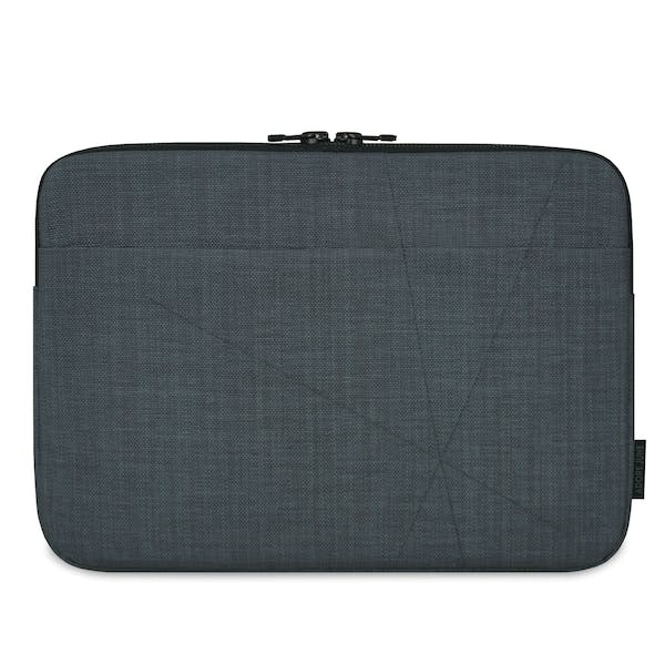 The picture shows the front of Axis Sleeve for Apple MacBook Pro 13 and MacBook Air 13 in color Dark Grey