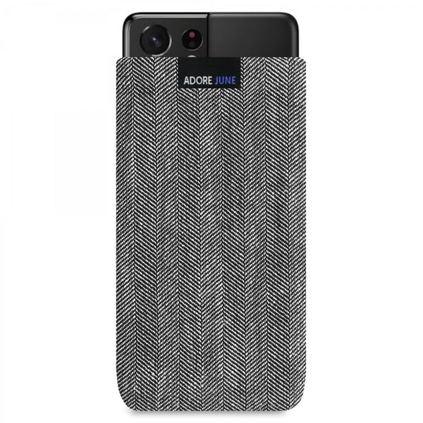 Image 1 of Adore June Business Sleeve for Samsung Galaxy S21 Ultra Color Black / Grey
