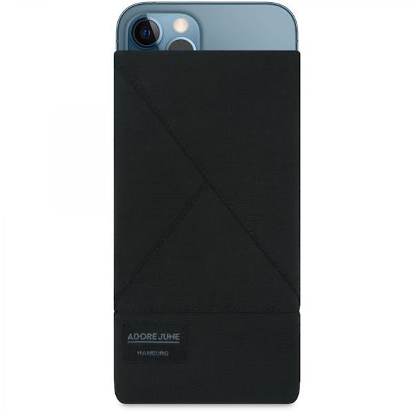 Bild 1 von Adore June Triangle Tasche für Apple iPhone 12 Pro Max und iPhone 13 Pro Max in Farbe Schwarz