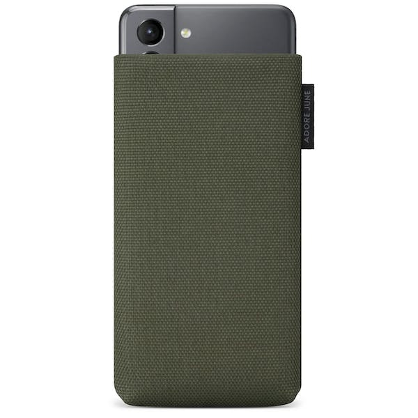 Image 1 of Adore June Classic Recycled Sleeve for Samsung Galaxy S21 Color Olive-Green