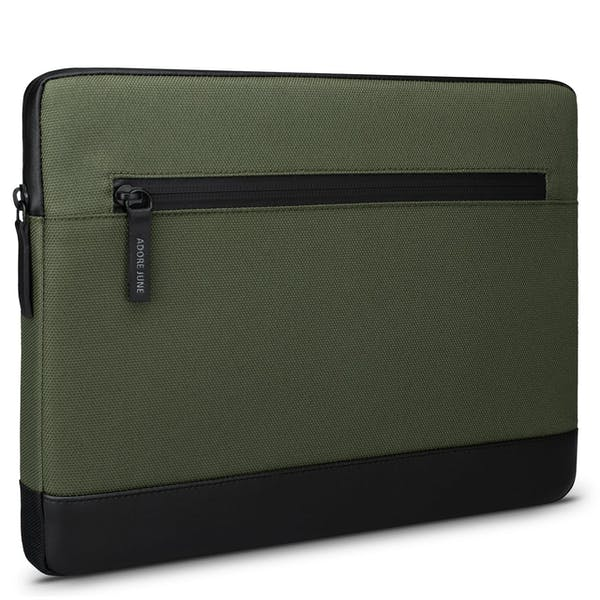 Image 1 of Adore June 13.3 Inch Sleeve for Samsung Galaxy Book Flex2 5G Bent Color Olive-Green