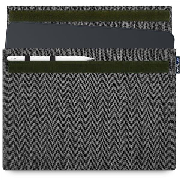 Bild 1 von Adore June Business Hülle für Apple iPad Pro 12 2018 in Farbe Grau / Schwarz