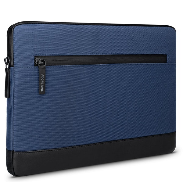 Image 1 of Adore June 13.3 Inch Sleeve for Dell XPS 13 Laptop Bent Color Blue