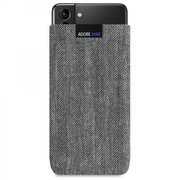 Image 1 of Adore June Business Sleeve for Samsung Galaxy S21 Plus Color Black / Grey