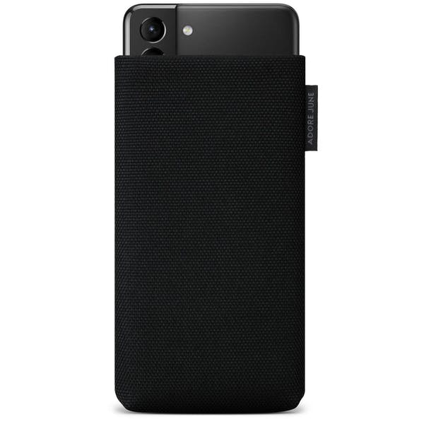 Image 1 of Adore June Classic Recycled Sleeve for Samsung Galaxy S21 Plus Color Black