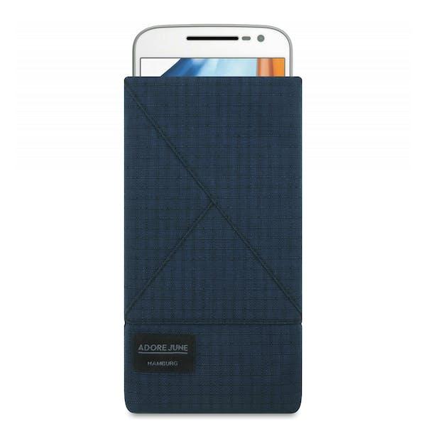 Bild 1 von Adore June Triangle Tasche für Motorola Moto G4 und Moto G4 Plus in Farbe Blau