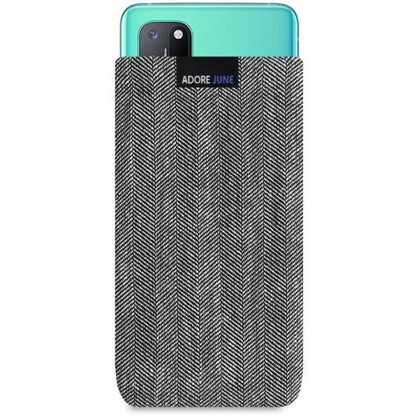 Image 1 of Adore June Business Sleeve for OnePlus 8T Color Grey / Black