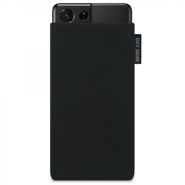 Image 1 of Adore June Classic Sleeve for Samsung Galaxy S21 Ultra Color Black