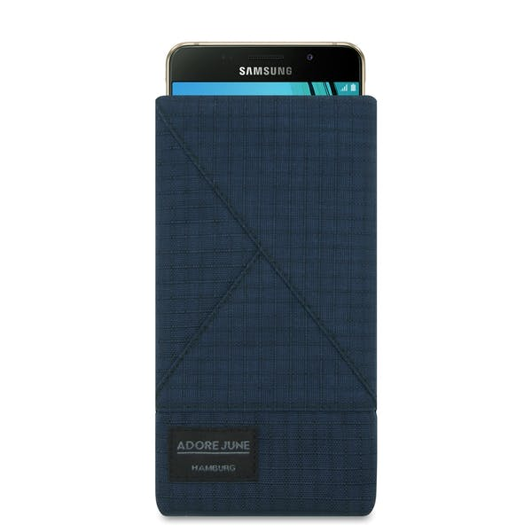 Image 1 of Adore June Triangle Sleeve for Samsung Galaxy A5 2016-2017 Color Blue