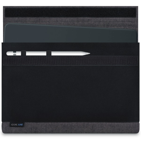 Image 1 of Adore June Bold Sleeve for Apple iPad Pro 11 and iPad Pro 10.5 Color Grey / Black