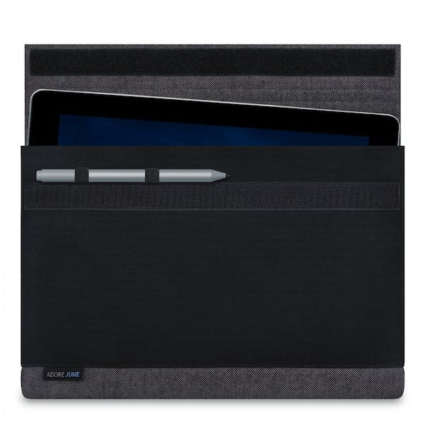 Image 1 of Adore June Bold Sleeve for Microsoft Surface Go Color Grey / Black