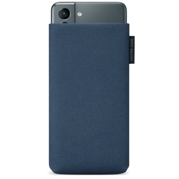 Image 1 of Adore June Classic Recycled Sleeve for Samsung Galaxy S21 Color Blue
