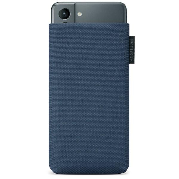 Bild 1 von Adore June Classic Recycled Premium Handytasche für Samsung Galaxy S21 in Farbe Blau