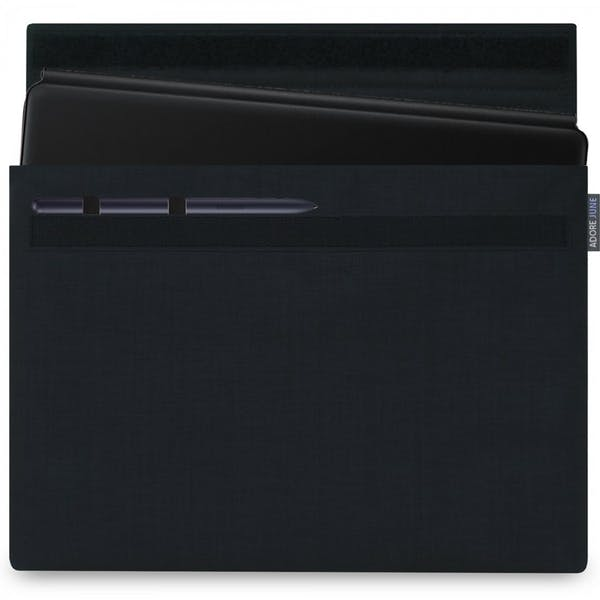 Image 1 of Adore June Classic Sleeve for Samsung Galaxy Tab S7 Plus Color Black