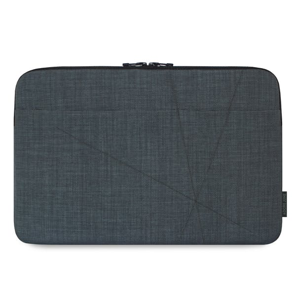 The picture shows the front of Axis Sleeve for Apple iPad 9 7 in color Dark Grey