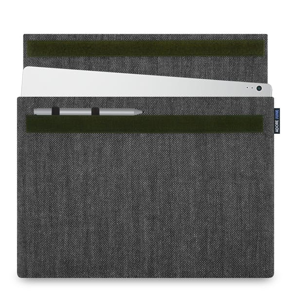 Image 1 of Adore June Business Sleeve for Microsoft Surface Book 13.5 Color Grey / Black