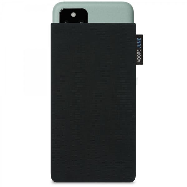 Image 1 of Adore June Classic Sleeve for Google Pixel 5 Color Black