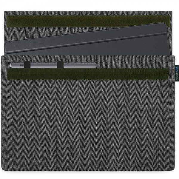 Image 1 of Adore June Business Sleeve for Samsung Galaxy Tab S6 Color Grey / Black