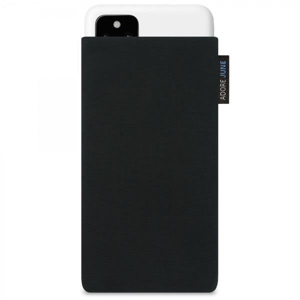 Image 1 of Adore June Classic Sleeve for Google Pixel 4a (5G) Color Black