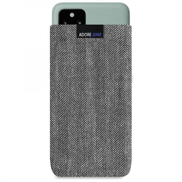 Bild 1 von Adore June Business Tasche für Google Pixel 5 in Farbe Grau / Schwarz