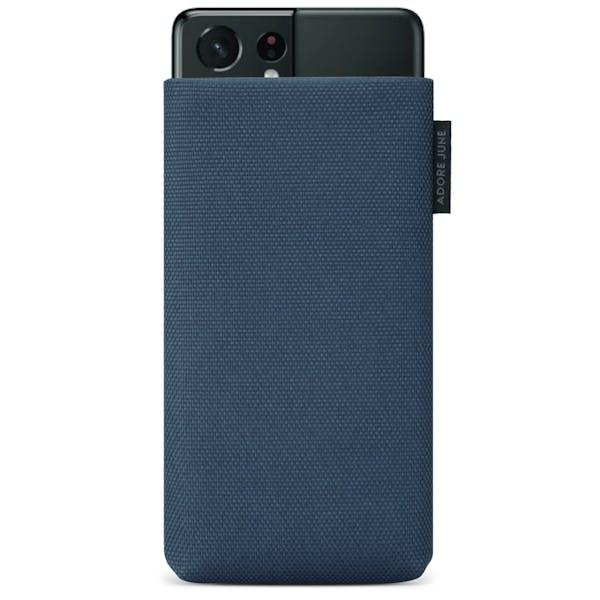 Bild 1 von Adore June Classic Recycled Premium Handytasche für Samsung Galaxy S21 Ultra in Farbe Blau