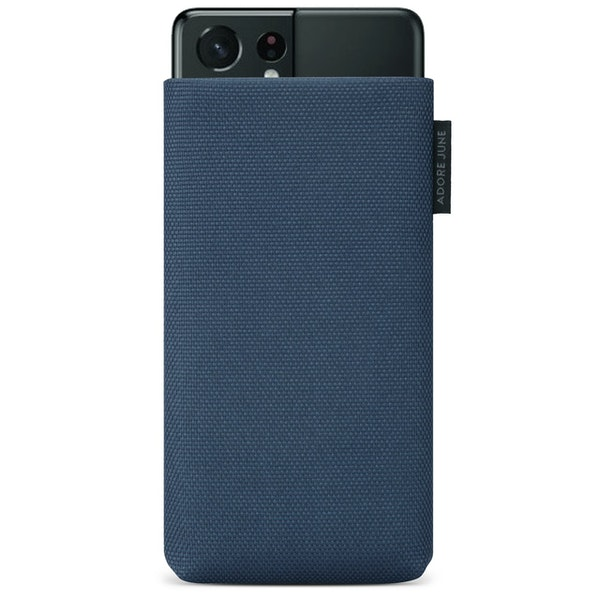 Image 1 of Adore June Classic Recycled Sleeve for Samsung Galaxy S21 Ultra Color Blue