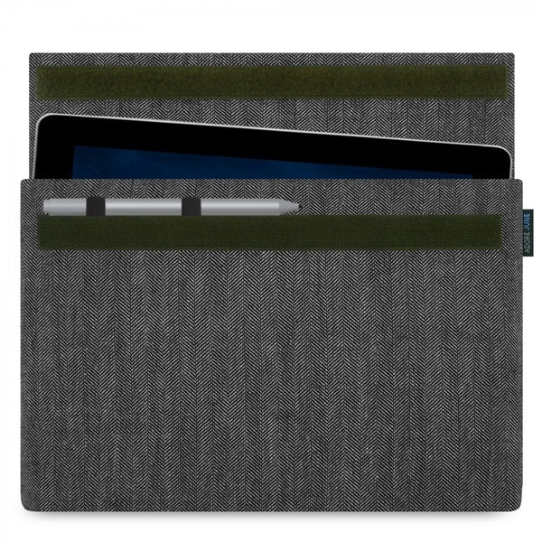 Image 1 of Adore June Business Sleeve for Microsoft Surface Go Color Grey / Black