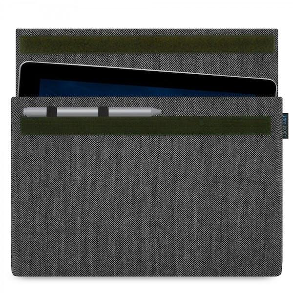 Bild 1 von Adore June Business Hülle für Microsoft Surface Go in Farbe Grau / Schwarz