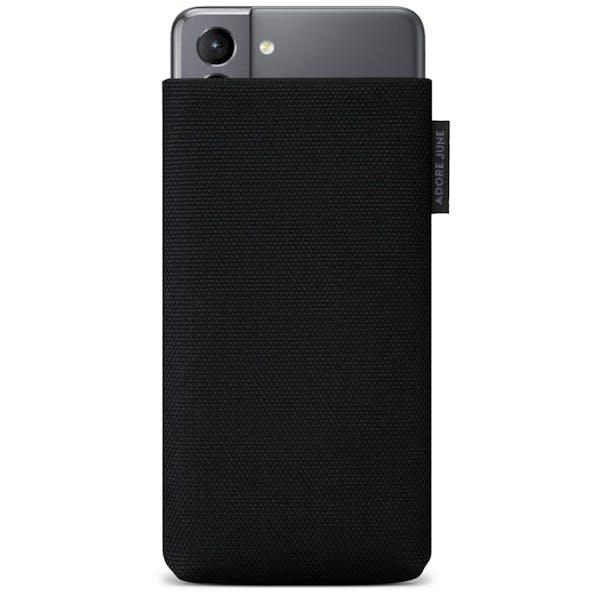 Bild 1 von Adore June Classic Recycled Premium Handytasche für Samsung Galaxy S21 in Farbe Schwarz