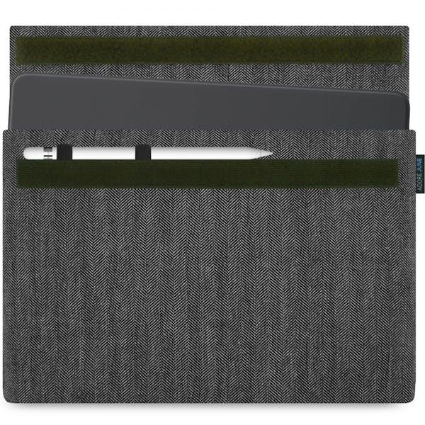 Bild 1 von Adore June Business Hülle für Apple iPad Pro 11 und iPad Pro 10.5 in Farbe grey / black