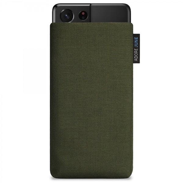 Bild 1 von Adore June Classic Tasche für Samsung Galaxy S21 Ultra in Farbe Oliv-Grün