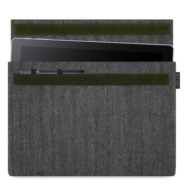 Bild 1 von Adore June Business Hülle für Samsung Galaxy Book 12 in Farbe Grau / Schwarz